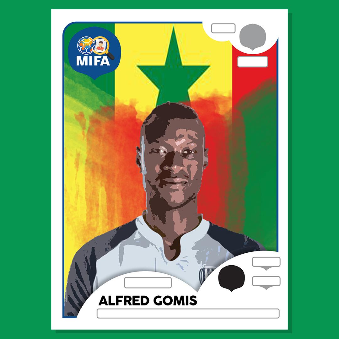 Alfred Gomis - Senegal - by Zak Peedee @soccercreate