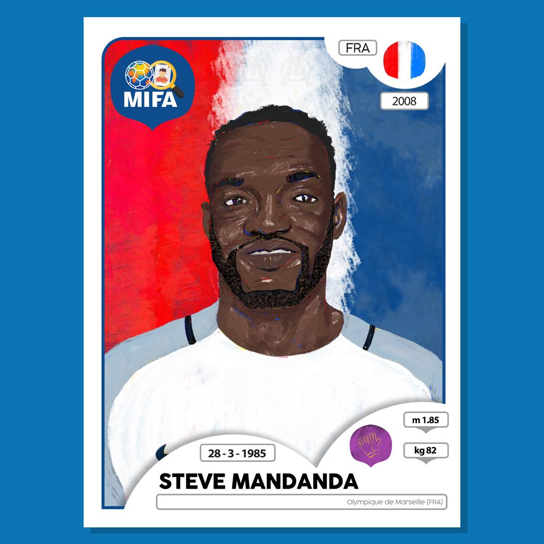Steve Mandanda - France - by Jason Gomez @DetectiveslNC
