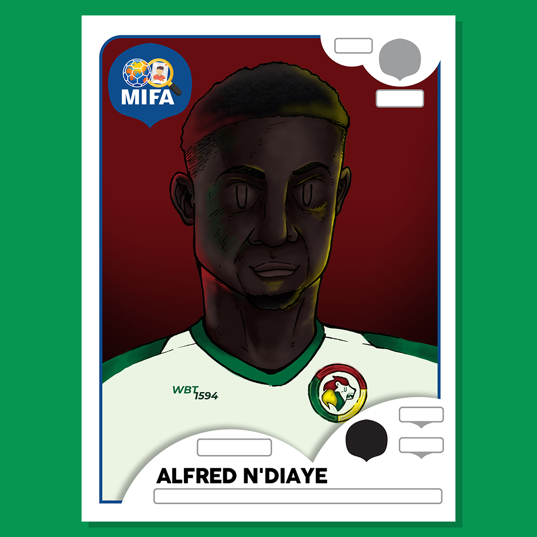 Alfred Ndiaye - Senegal - by Ez Quek @wolfsworks