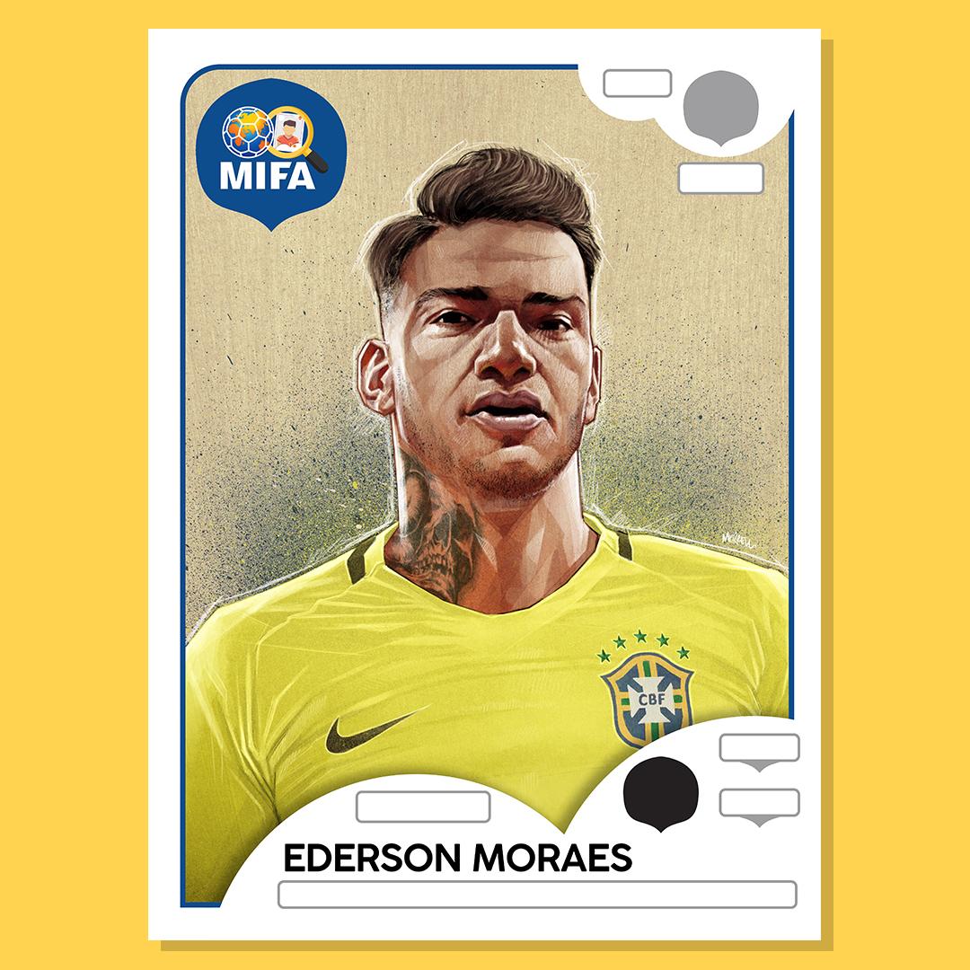 Ederson - Brazil - by Dave Merrell @Davemerrell