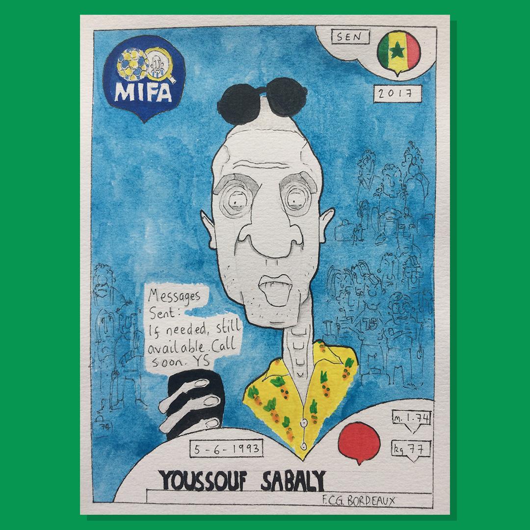 Youssouf Sabaly - Senegal - by LG McPherson @mcpherson_lg
