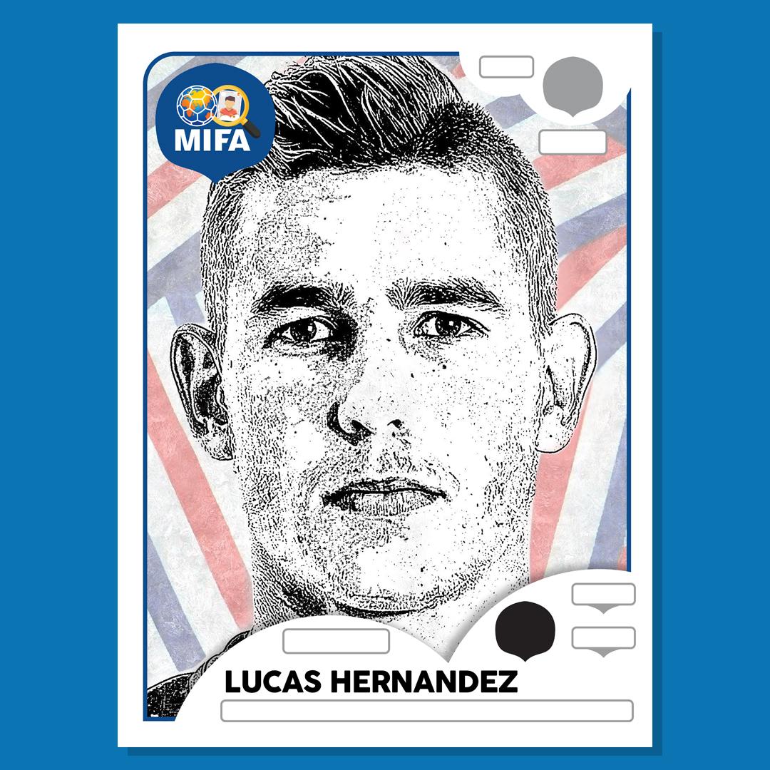 Lucas Hernandez - France - by George Mannix @georgemannixartt