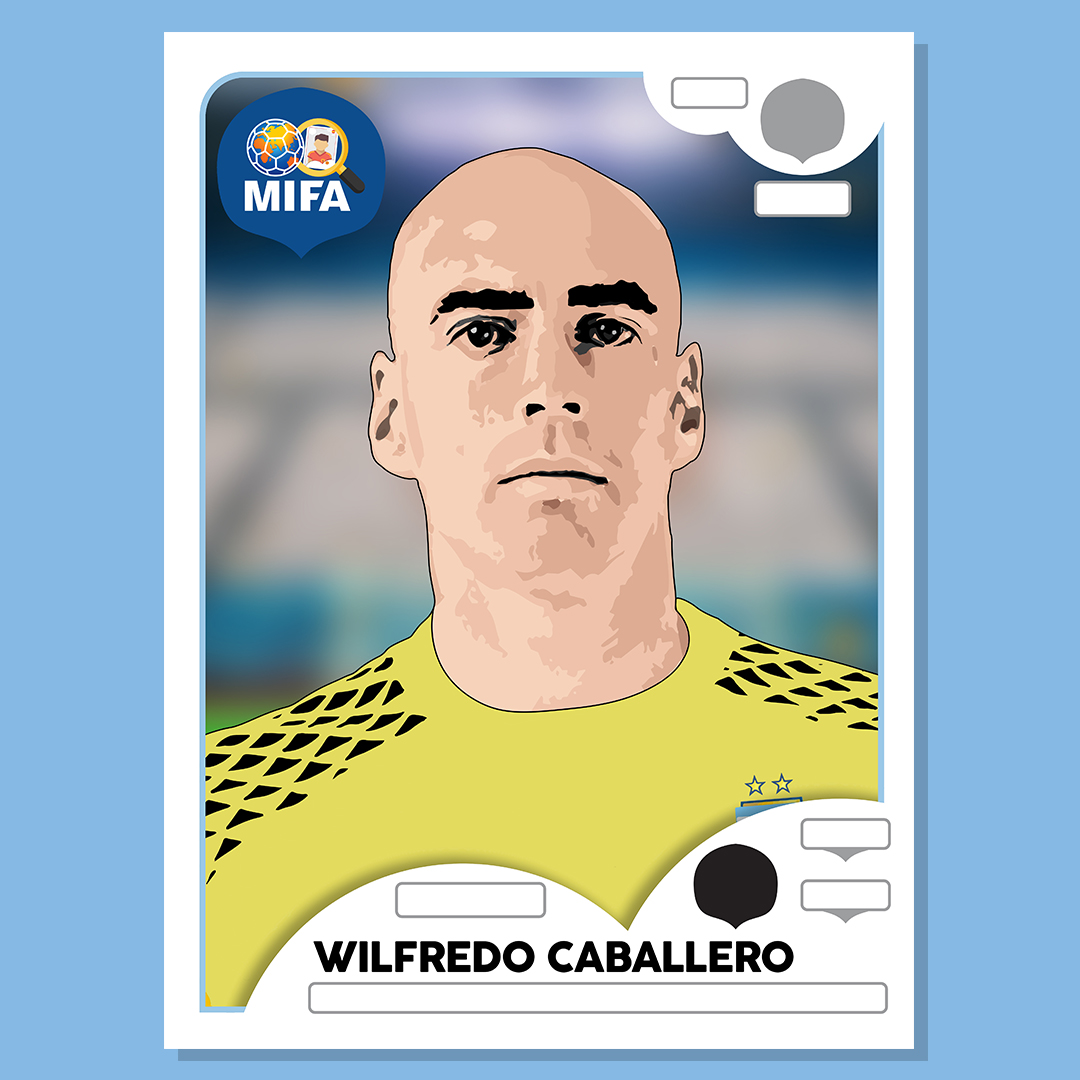 Wilfredo Caballero - Argentina - by Remy Walker @remoir86