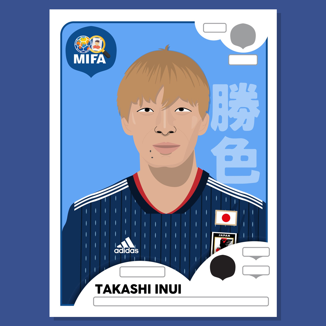 Takashi Inui - Japan - by Apostagraphic @apostagraphic