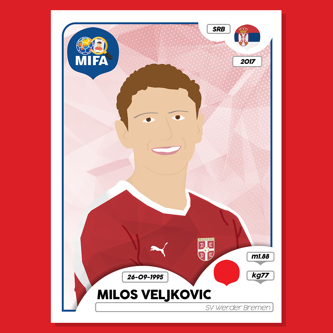 Milos Veljkovic - Serbia - by Matthew King @ninetysportcreative