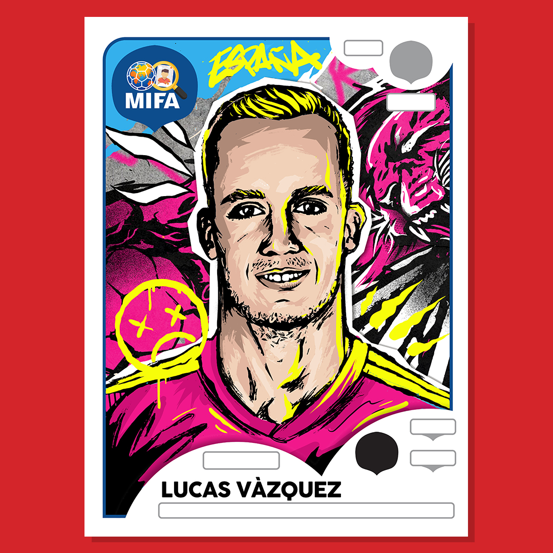 Lucas Vazquez - Spain - by Aaron Givens @arnanarchy