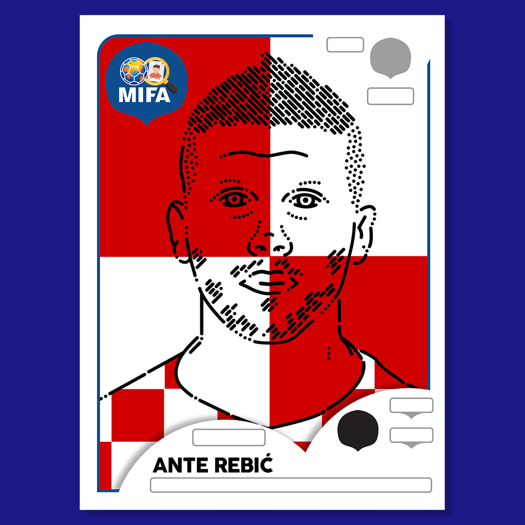 Ante Rebić - Croatia - by Kieran O'Keeffe @Serenity_Later