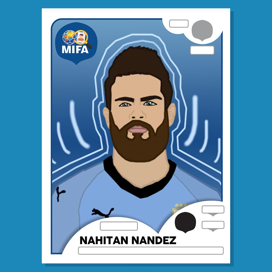 Nahitan Nandez - Uruguay - by Harvey Burke @hazzakb17
