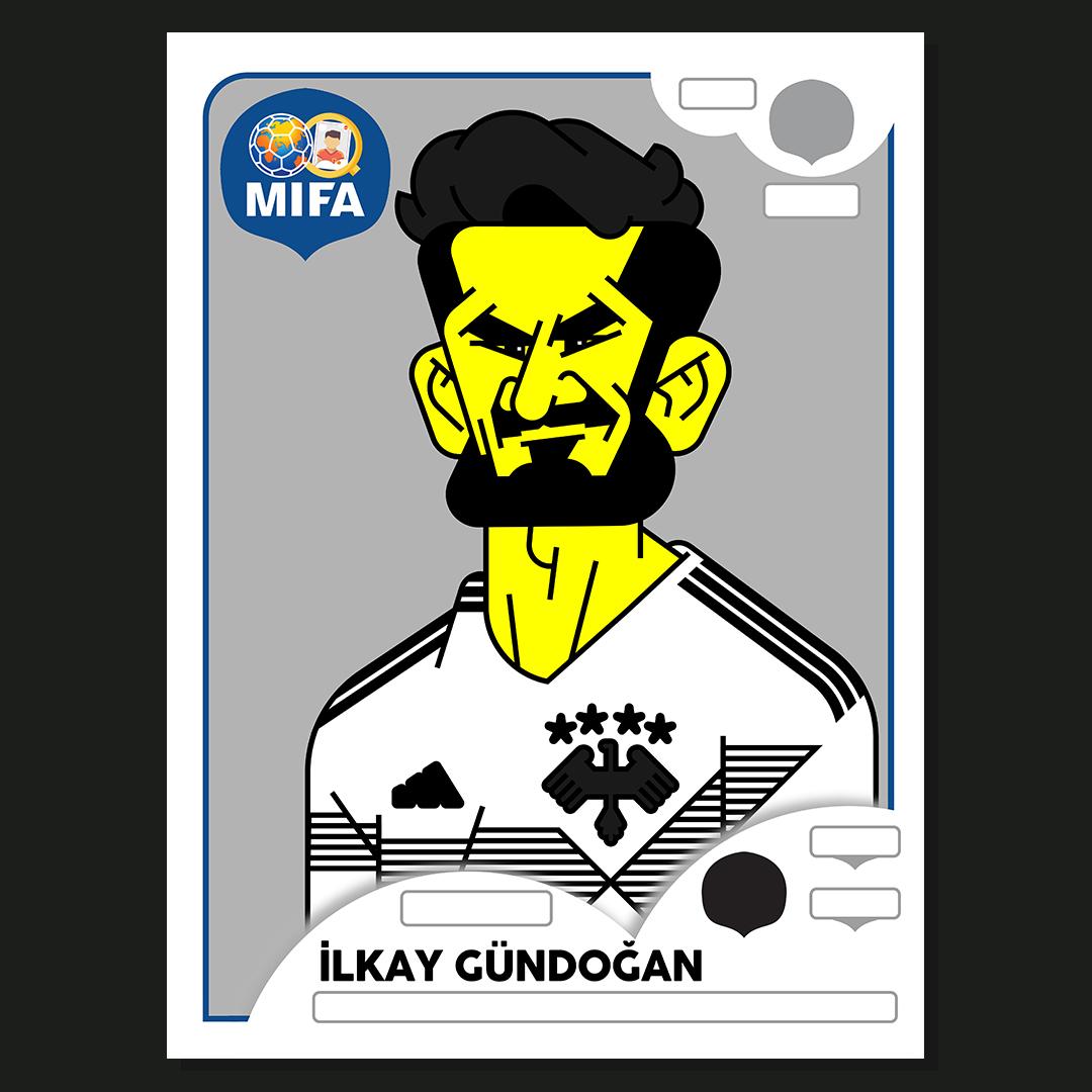 Ilkay Gundogan - Germany - by Daniel Nyari @danielnyari