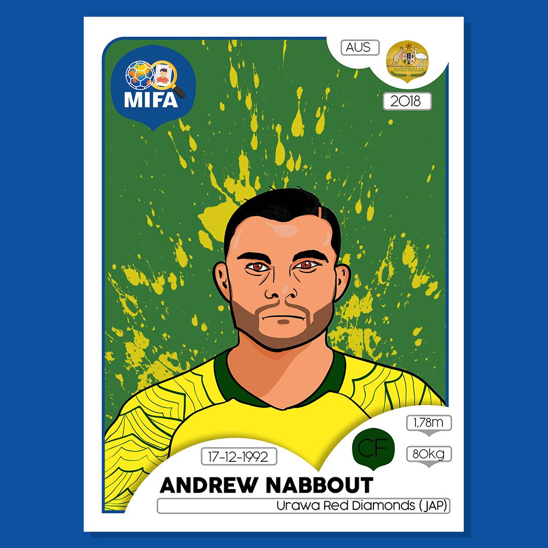 Andrew Nabboutt - Australia - by Patrik Harman @HarmanPato