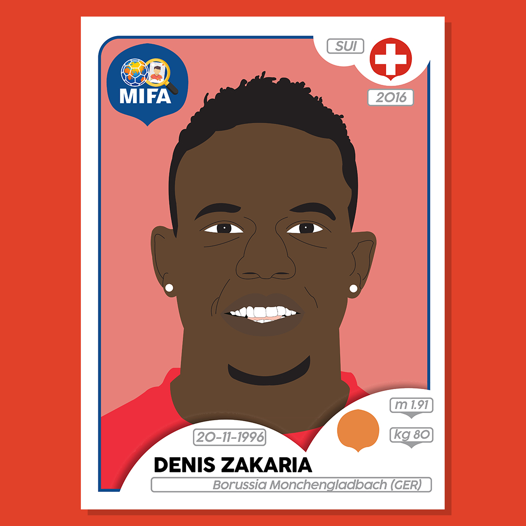 Denis Zakaria - Switzerland - by Matthew Wilson @m.wilson_94