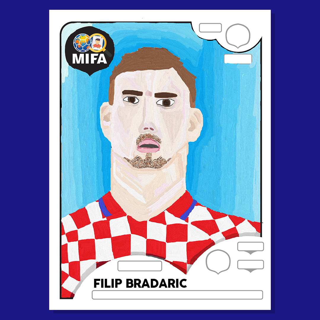 Filip Bradaric - Croatia - by Cameron Haggart @Cam3ronLFC