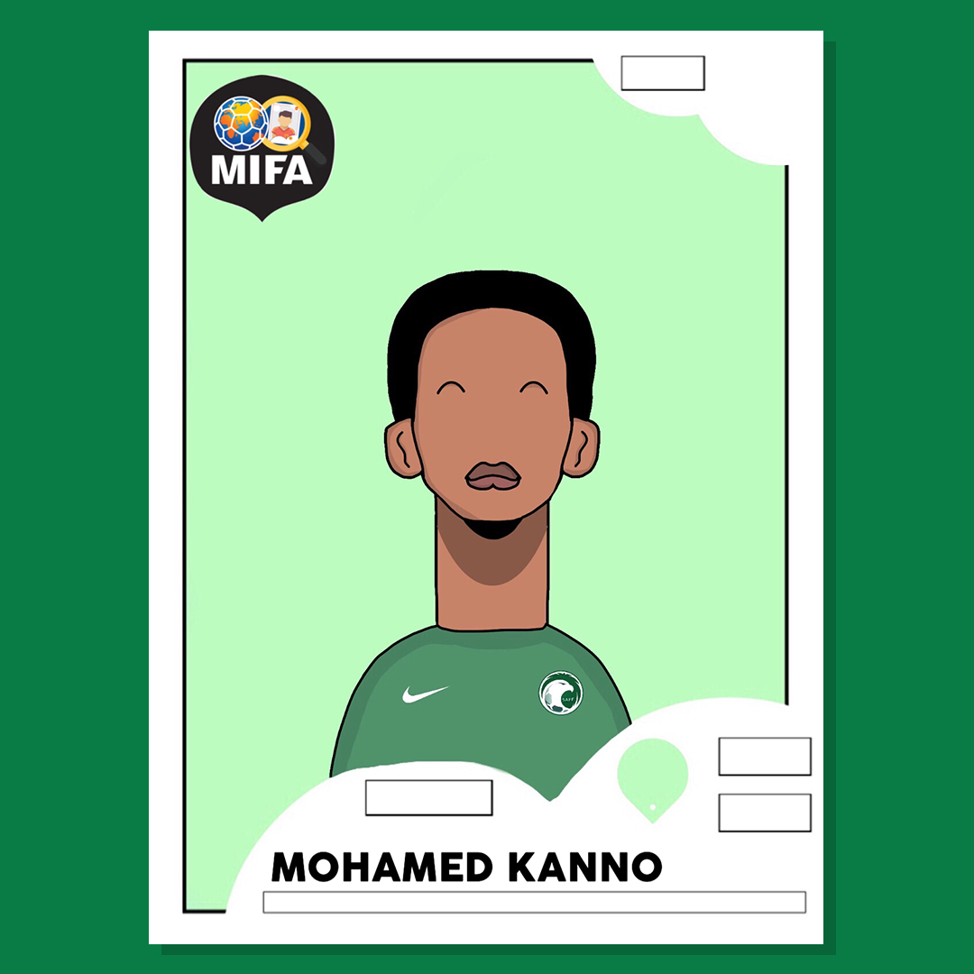 Mohamed Kanno - Saudi Arabia - by Shawaiz Agha @shawaizdoesart