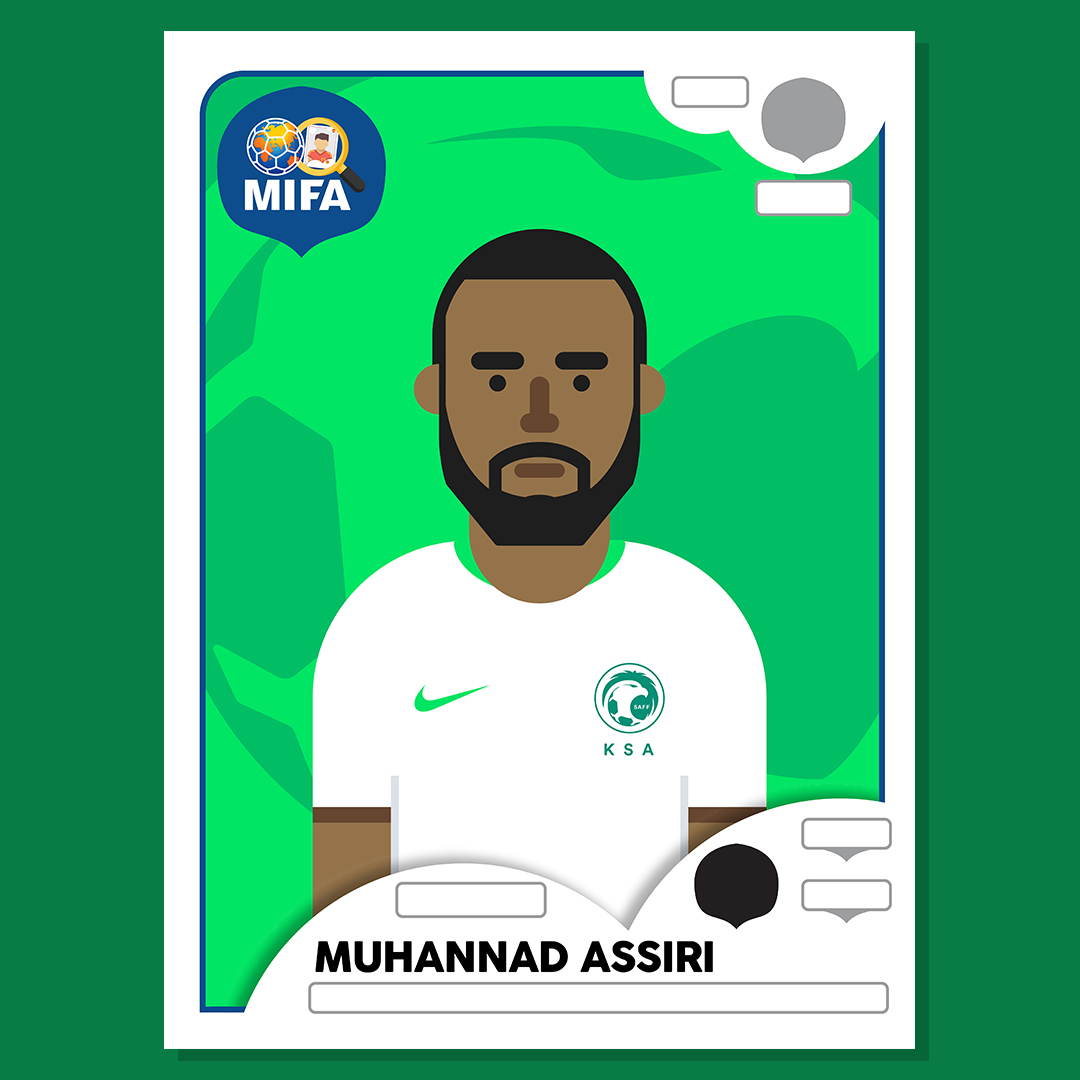 Muhannad Assiri - Saudi Arabia - by Maldesign @maldesign