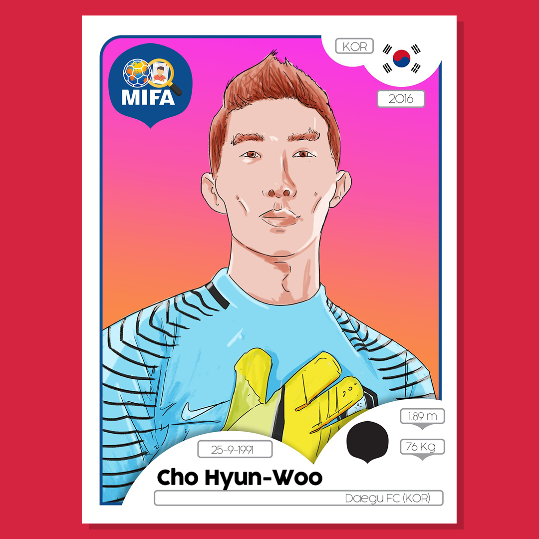 Cho Hyun-woo  - South Korea - by Barry Masterson  @BarryMasterson