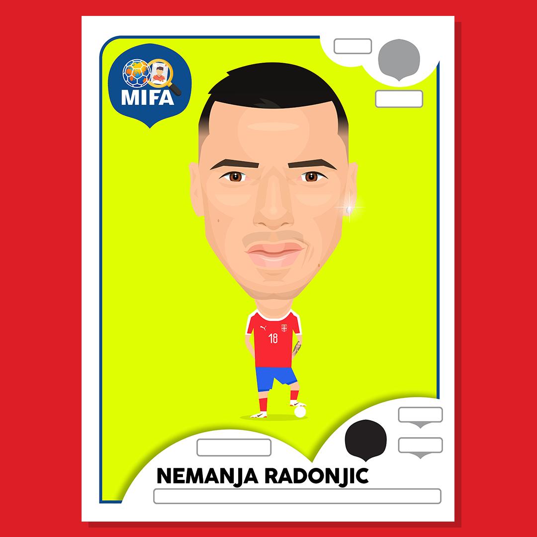 Nemanja Radonjic - Serbia - by Joe Oliver @JoeOliverDesign