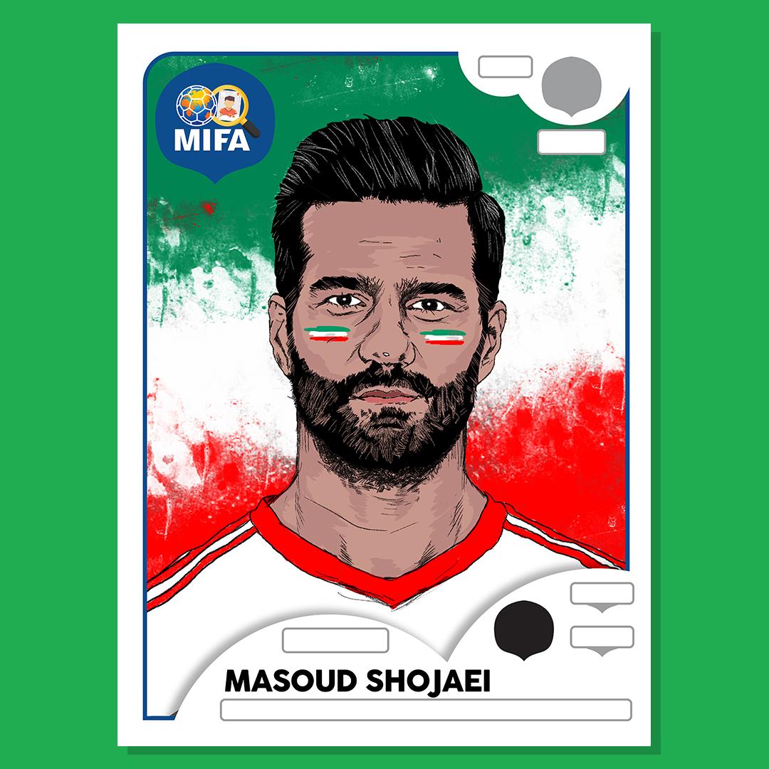 Masoud Shojaei - Iran - by Fadhil Zubir @fadhilzubir