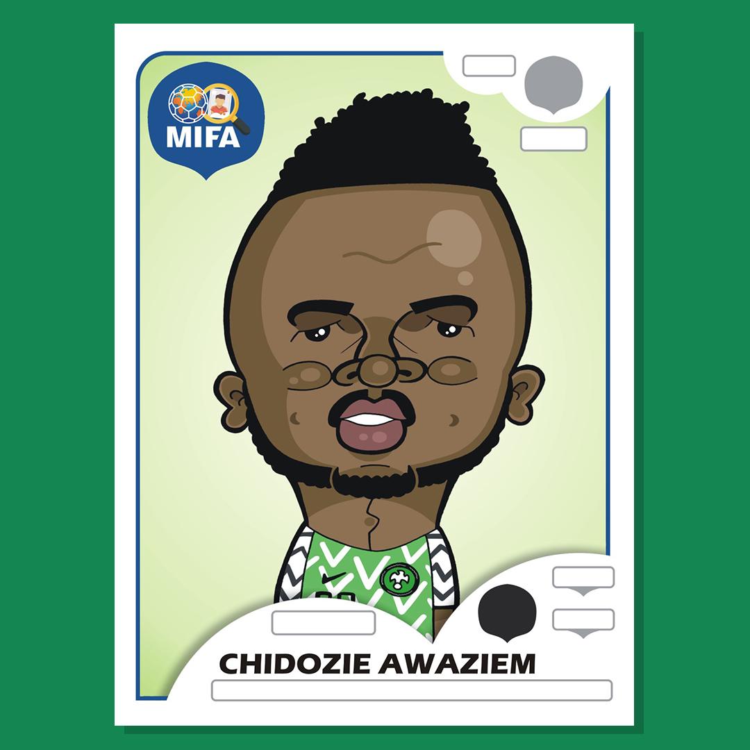 Chidozie Awaziem - Nigeria - By Chris Sommerville@magicsponge77