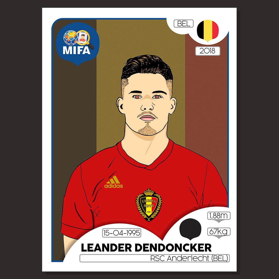 Leander Dendoncker - Belgium - by Patrik Harman @HarmanPato