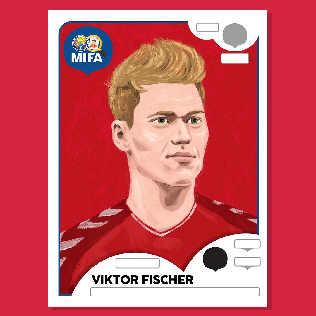 Viktor Fischer - Denmark - by Ben Farr