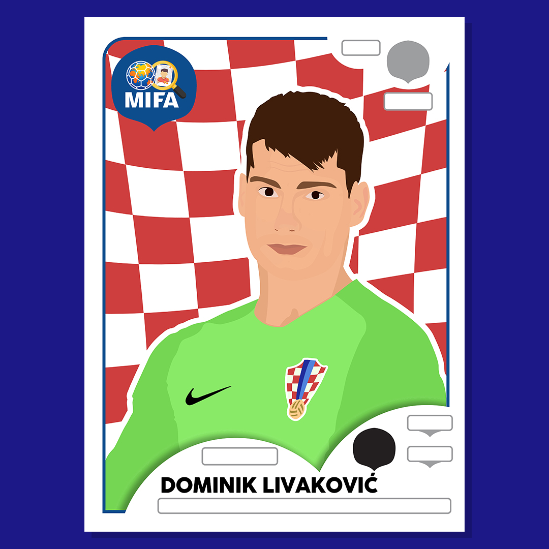 Dominik Livakovic - Croatia - by Natasya Zainal @nzcas