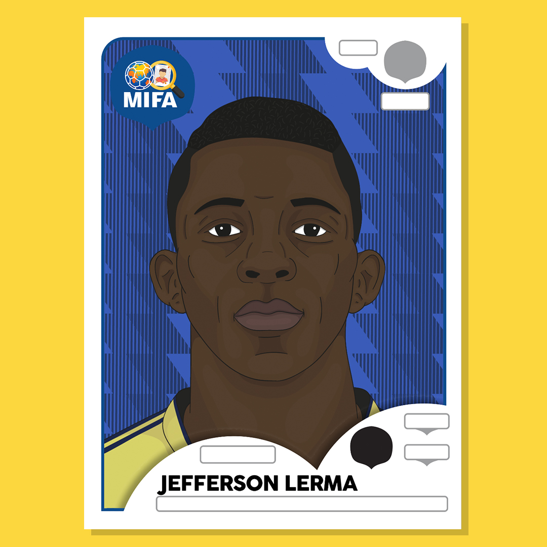 Jefferson Lerma - Colombia - by Adam Jacques @adamjacques8
