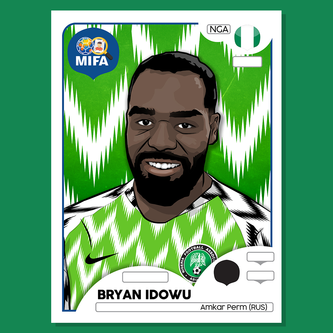 Bryan Idowu - Nigeria - by Ben Pearce @bdp_design