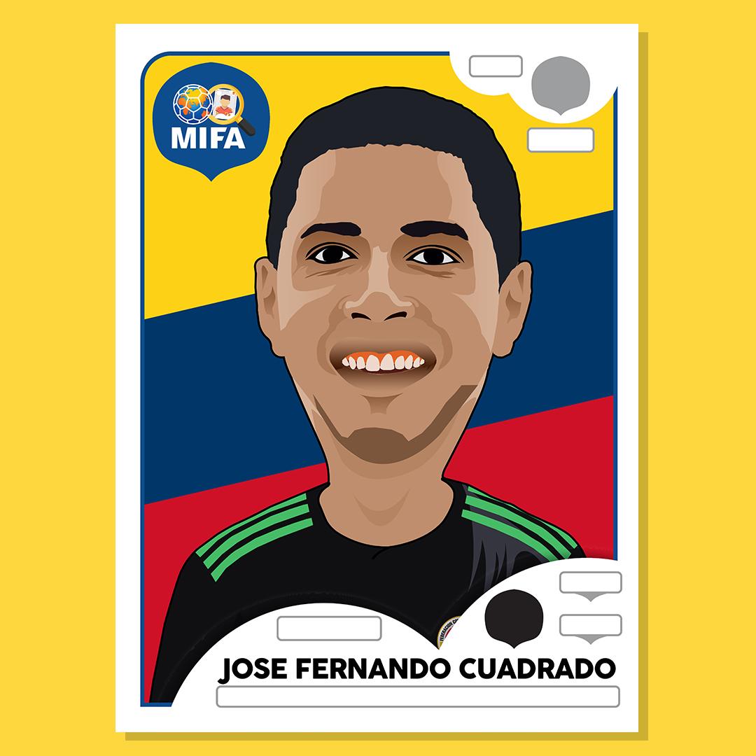 Jose Fernando Cuadrado - Colombia -