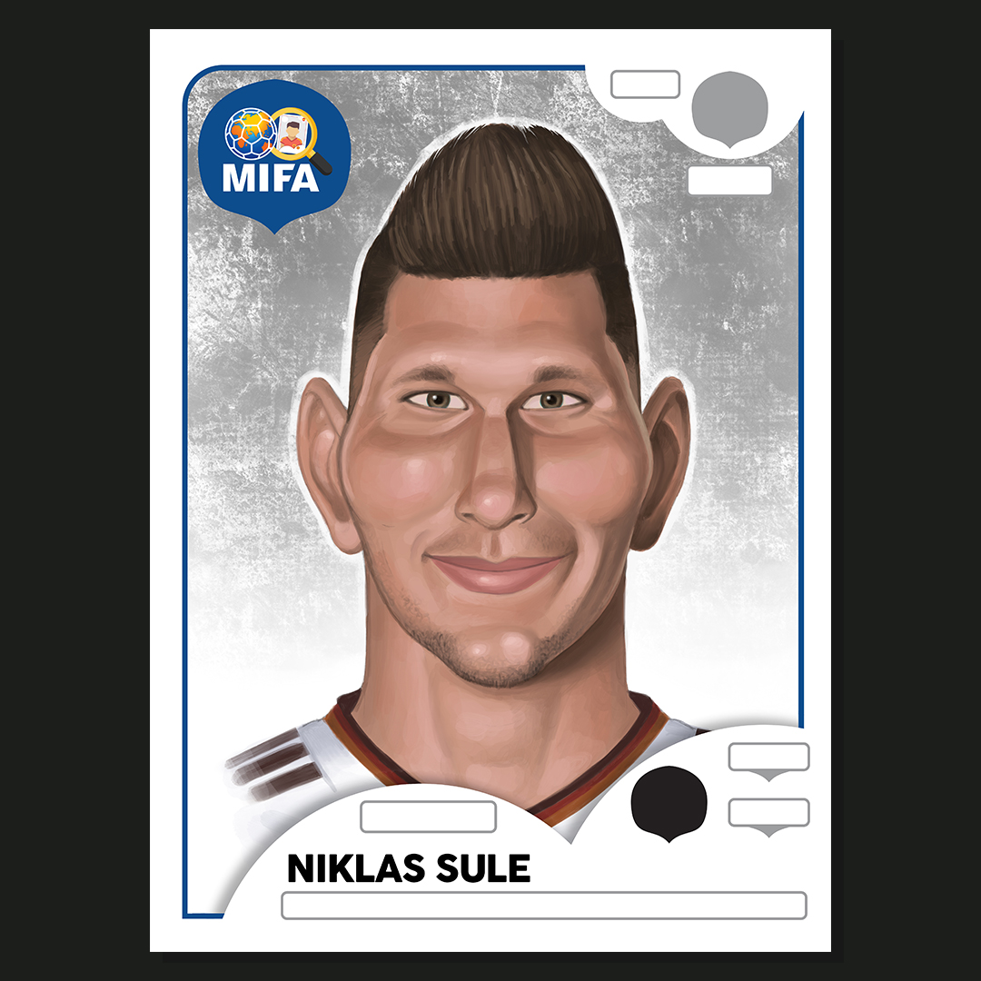 Niklas Sule - Germany - by Jamie Fulker @jfdoodles