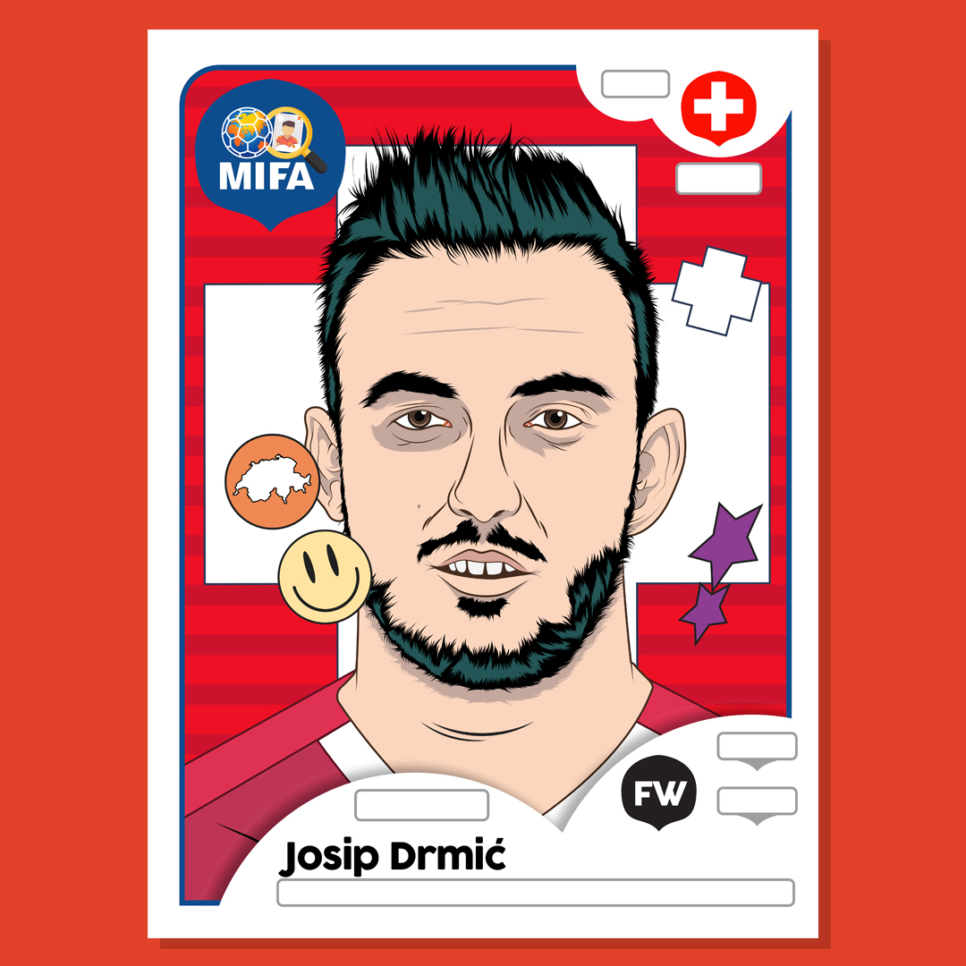 Josip Drmic - Switzerland - by Lutfi Aufar @lutfiaufar