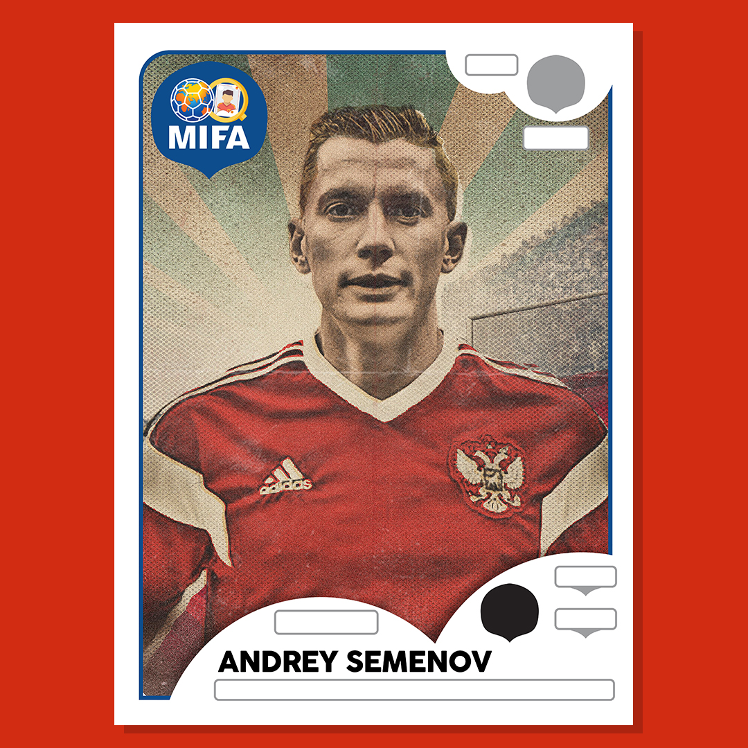 Andrey Semenov - Russia - by The Sporting Press  @sportingpress1 ‏