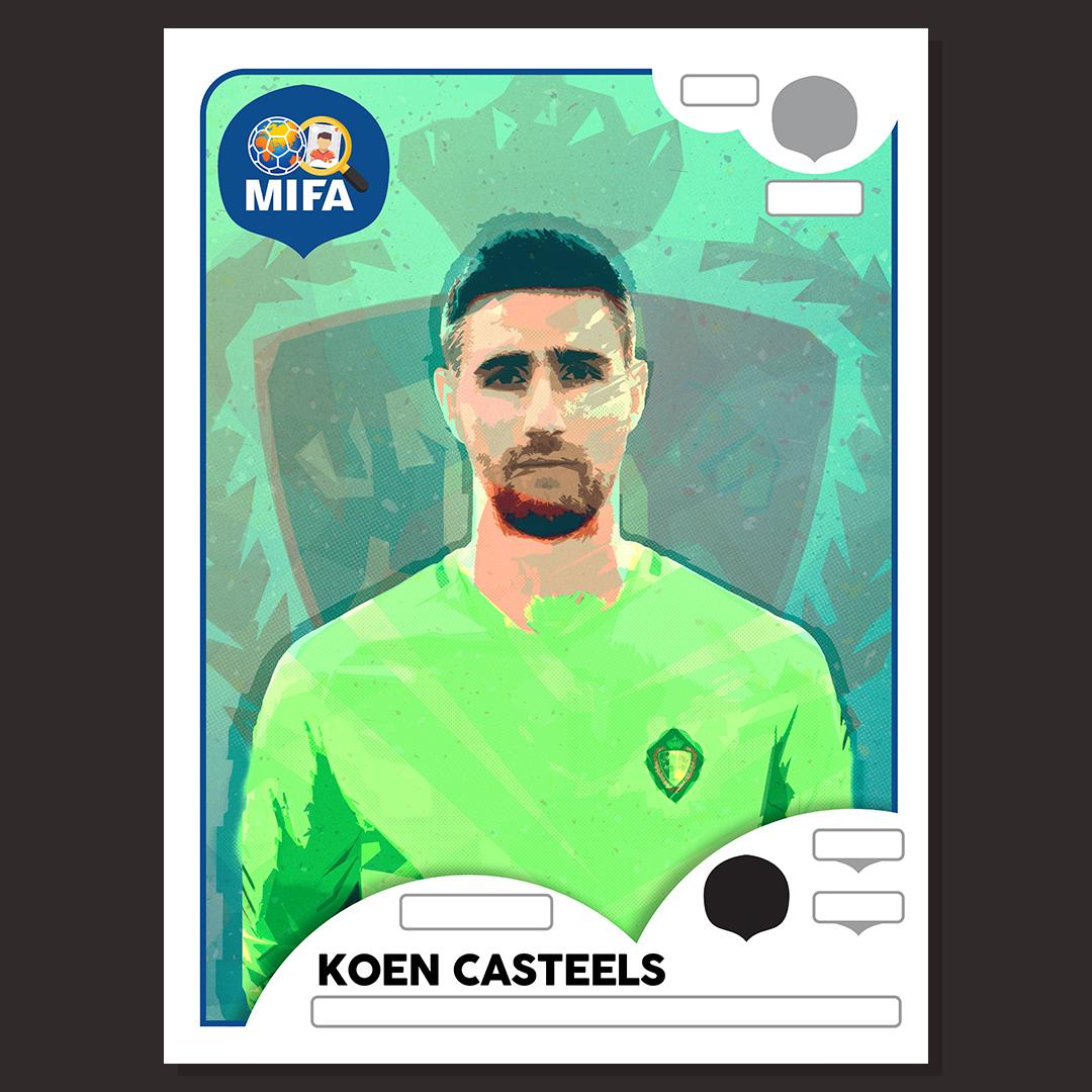 Koen Casteels - Belgium - by Martin Peart @MartinPeart