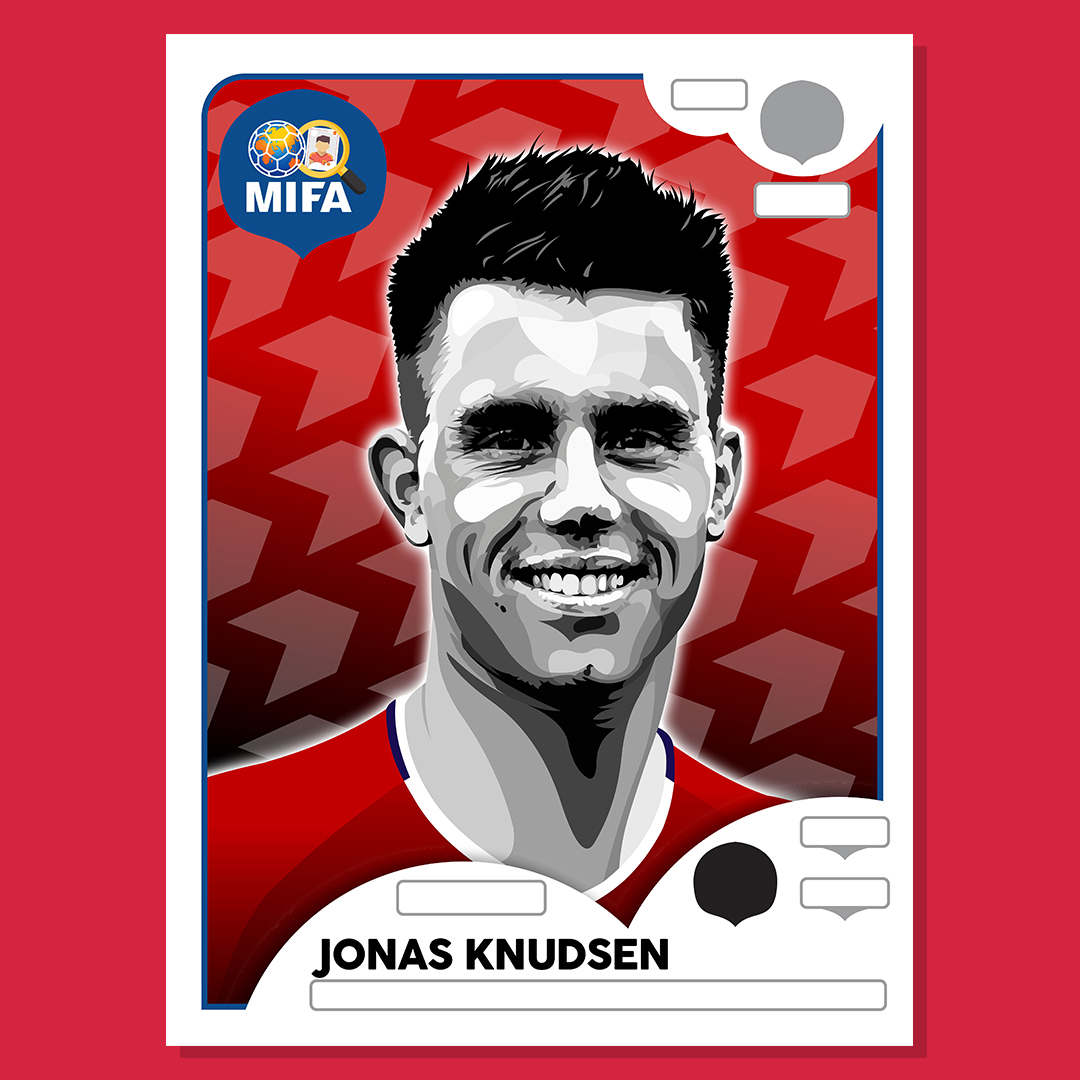 Jonas Knudsen - Denmark - by James Harper @pitchblackcards
