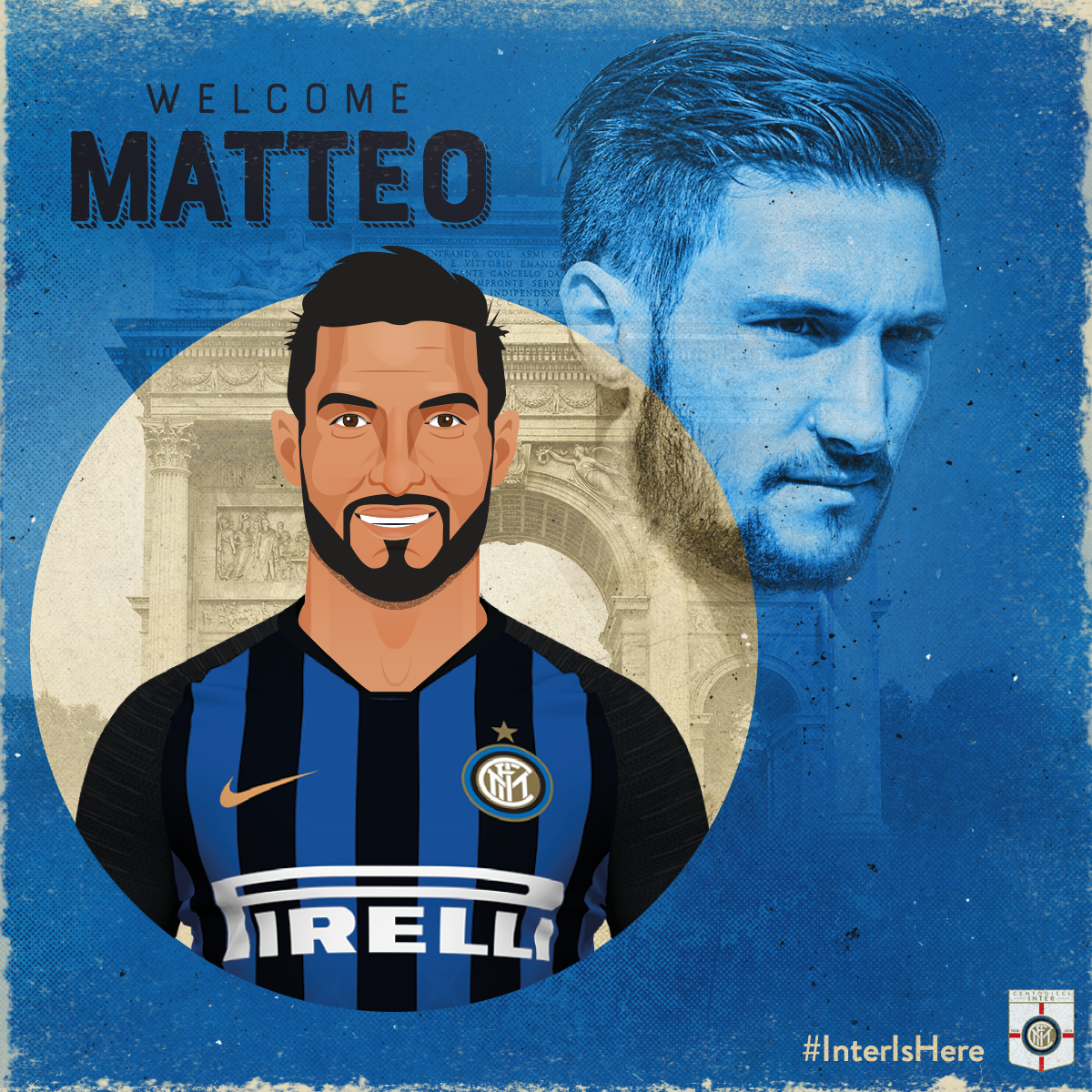 Matteo Politano   The exciting young right wing back has initially been brought in on loan from Sassulo with an option to buy at the end of the season. An Italy U21 international, Politano was coveted by a number of top clubs but chose Inter.