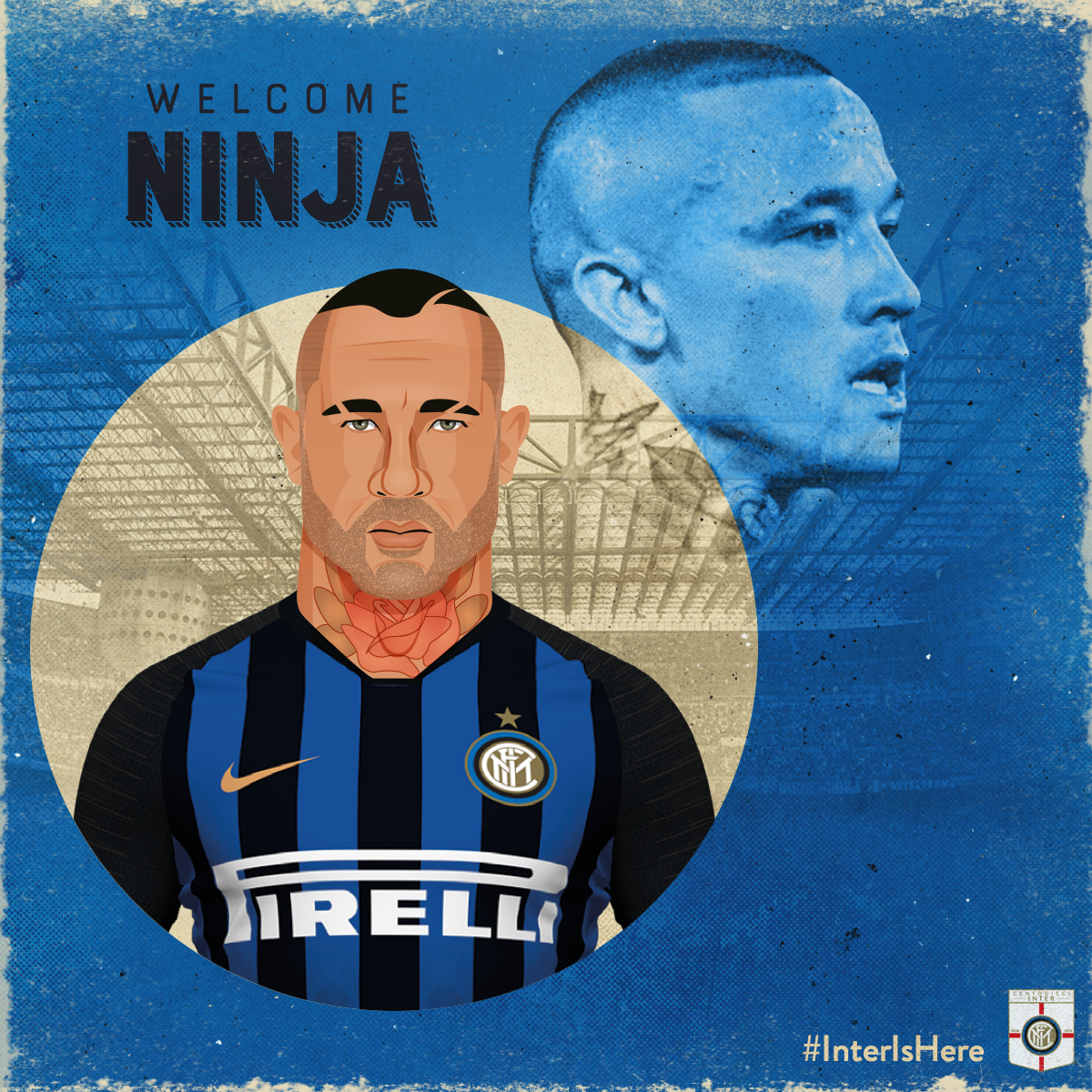 Radja Nainggolan   Signed from rivals Roma for £34.2 million, the all action midfielder was a massive coup for Inter, with fans delighted at his arrival. He will add quality to the Inter midfield as the club takes part in the 2018/19 Champions League and aims to progress in Serie A.