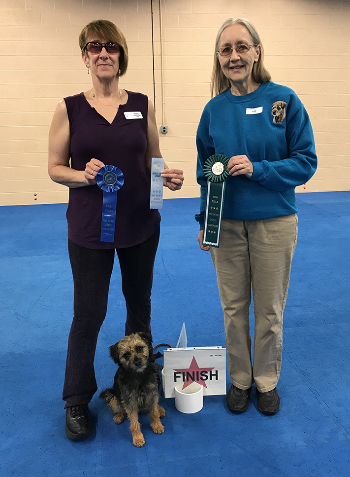 Christina and Rosie earned their UKC Level 1 (URO1) Rally title on May 4 and 5, 2019.