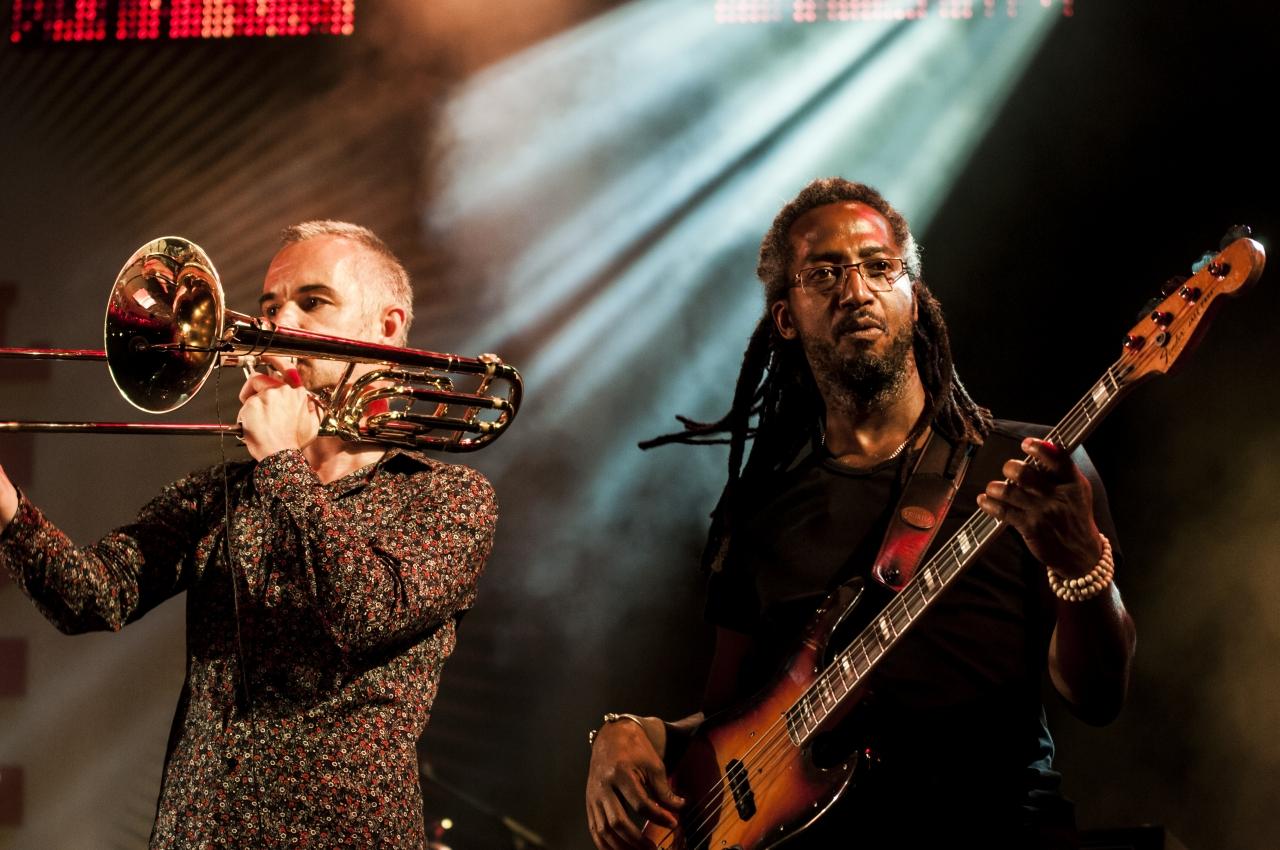 Musiciens de Jacques Higelin au Fnac Live