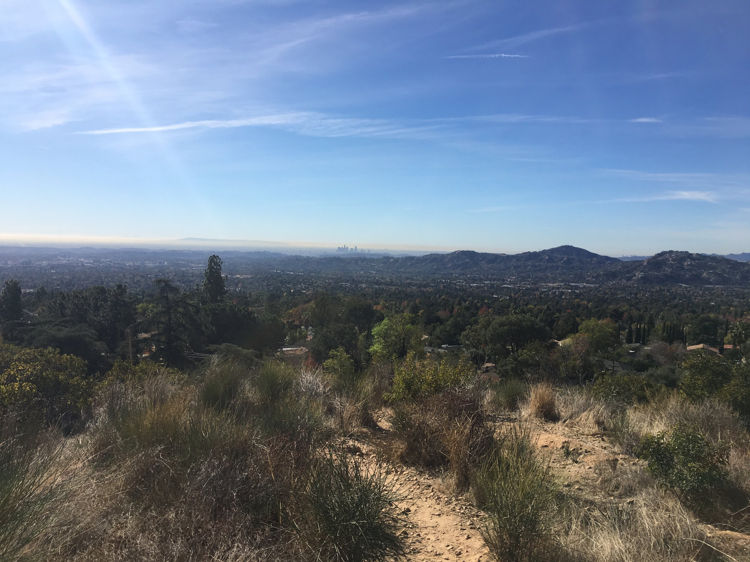 Morning view from Altadena, CA