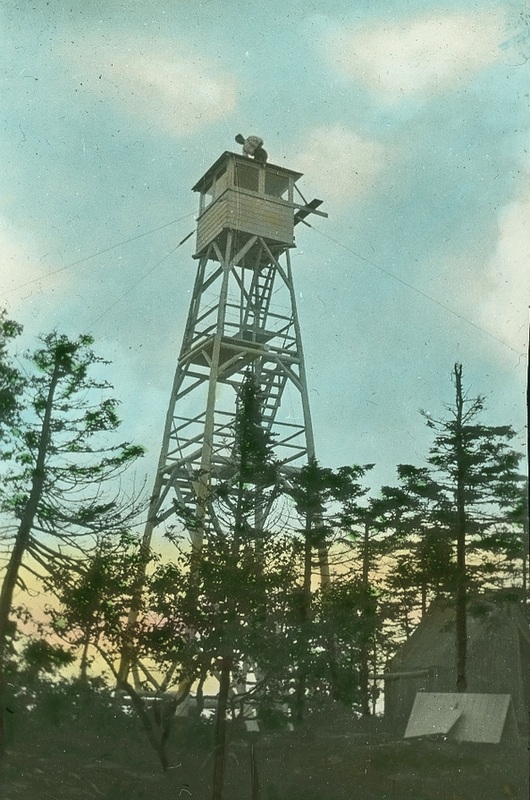 The old Mt. Alice fire tower.