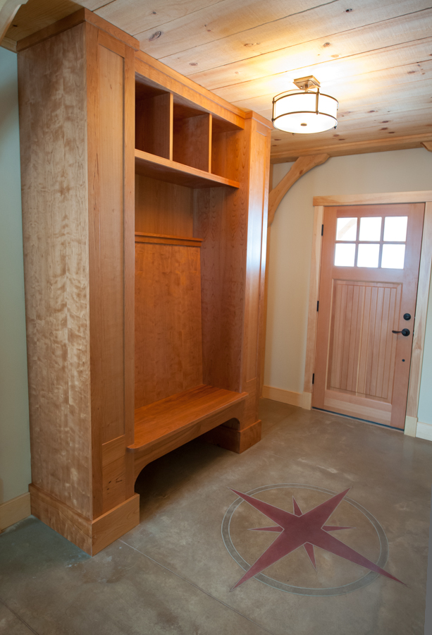 Mud room unit.