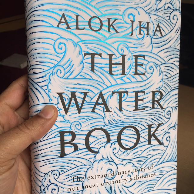 Finally got a finished copy of The Water Book today. Took four years from the initial idea to this point.