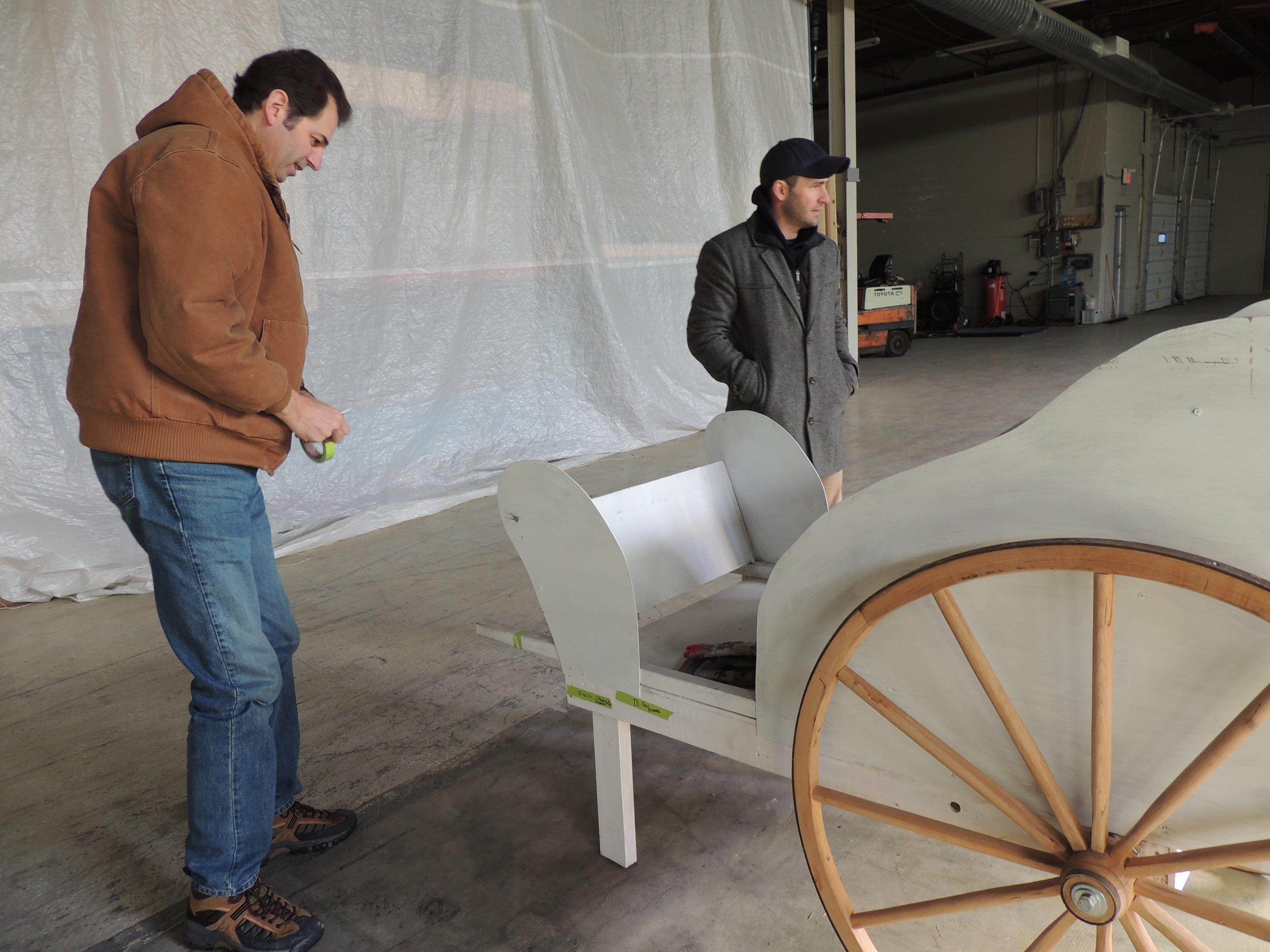 Volunteers build incredible prop pieces - So actors get the best to work with!