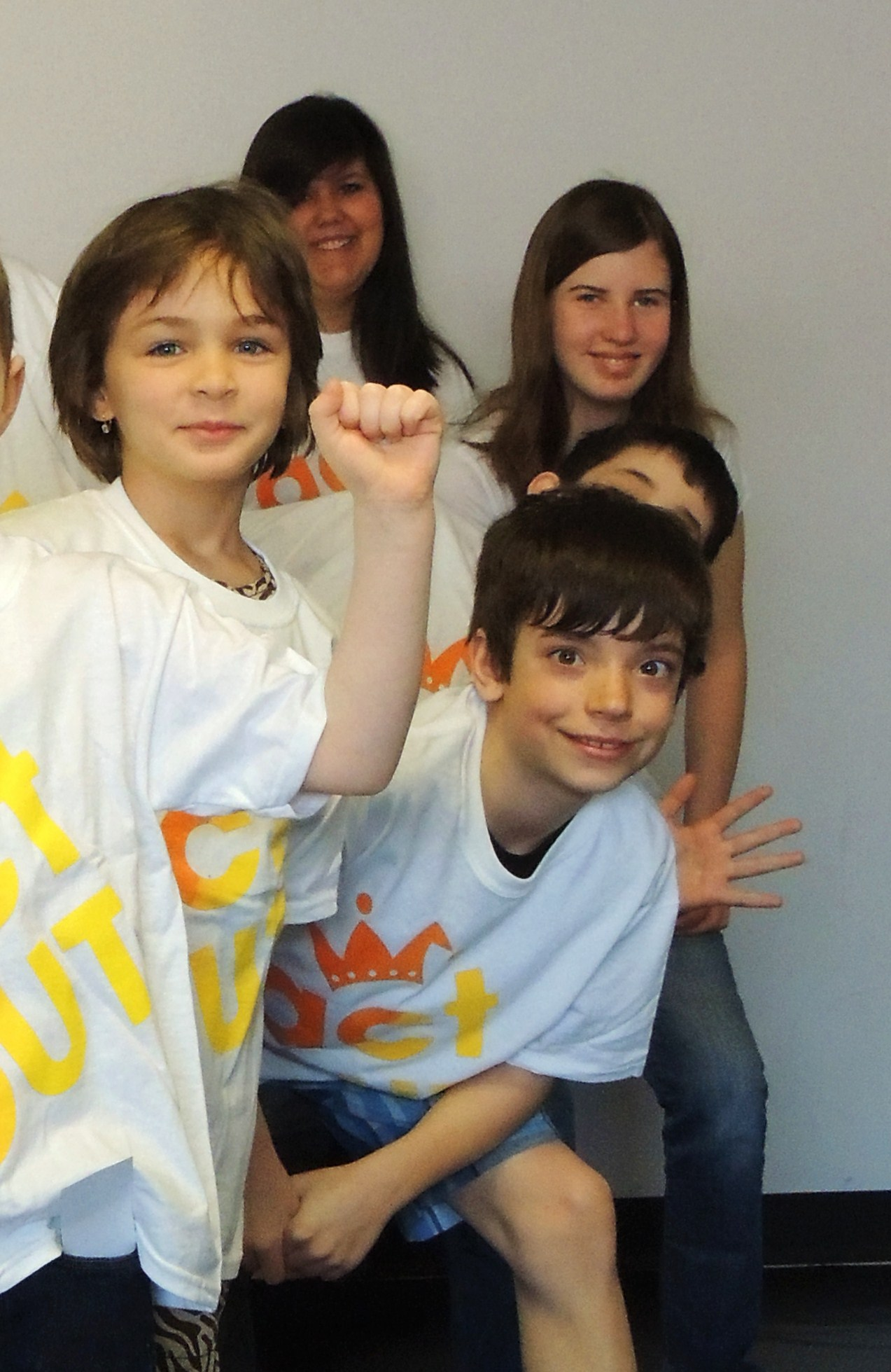 Volunteers helpDrama Campersgain confidence - So they learn skills that last a lifetime!