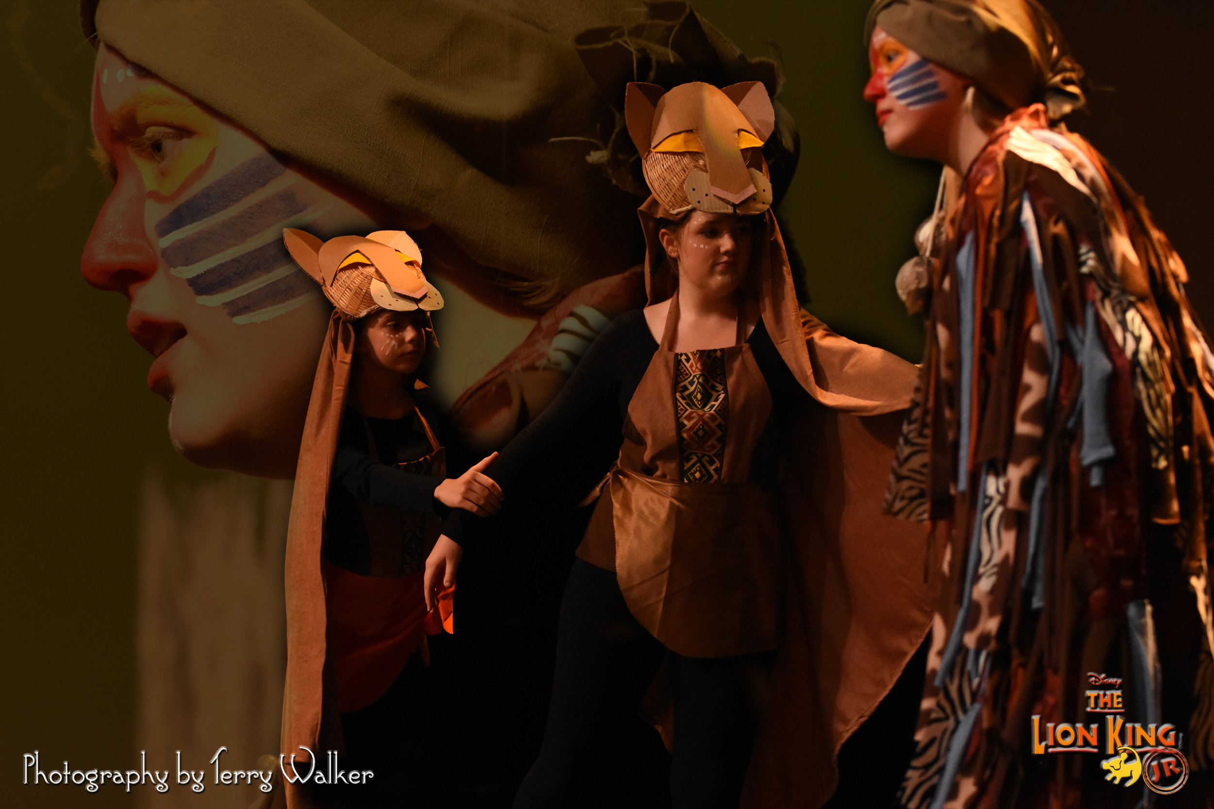 Production picture from 2018's June Musical Lion King Jr. -