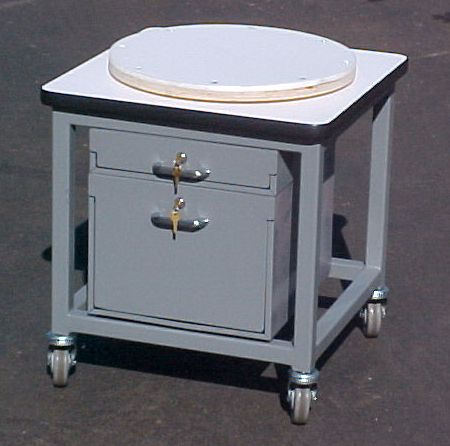 24 x 24 Table with rotating top.JPG