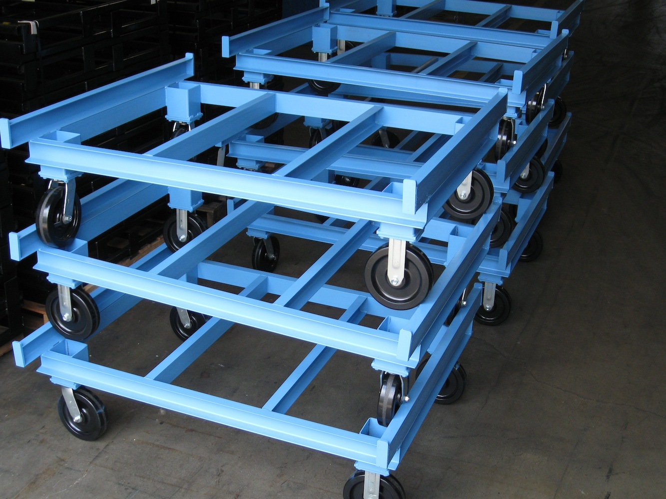 Stackable Rolling Carts