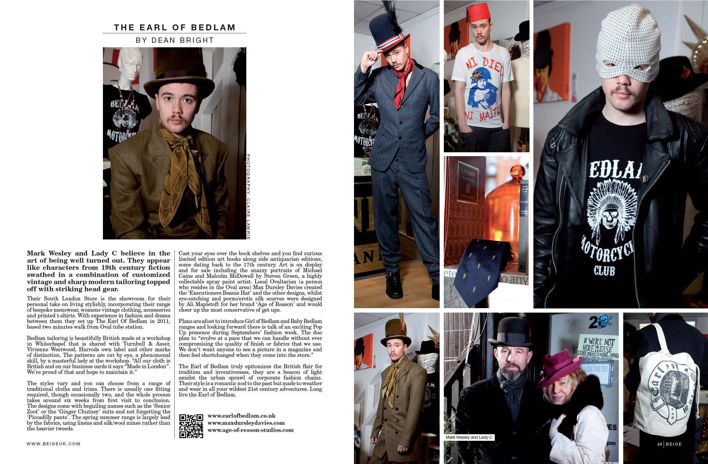Beige Magazine, March 2012