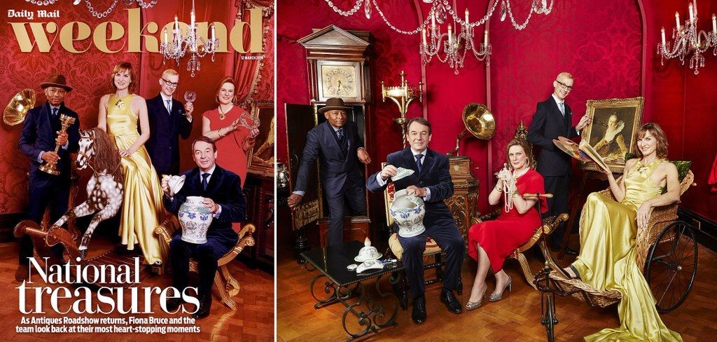 Weekend mag March 12th 2015 Daily Mail Mark Hill Antiques Roadshow.jpg