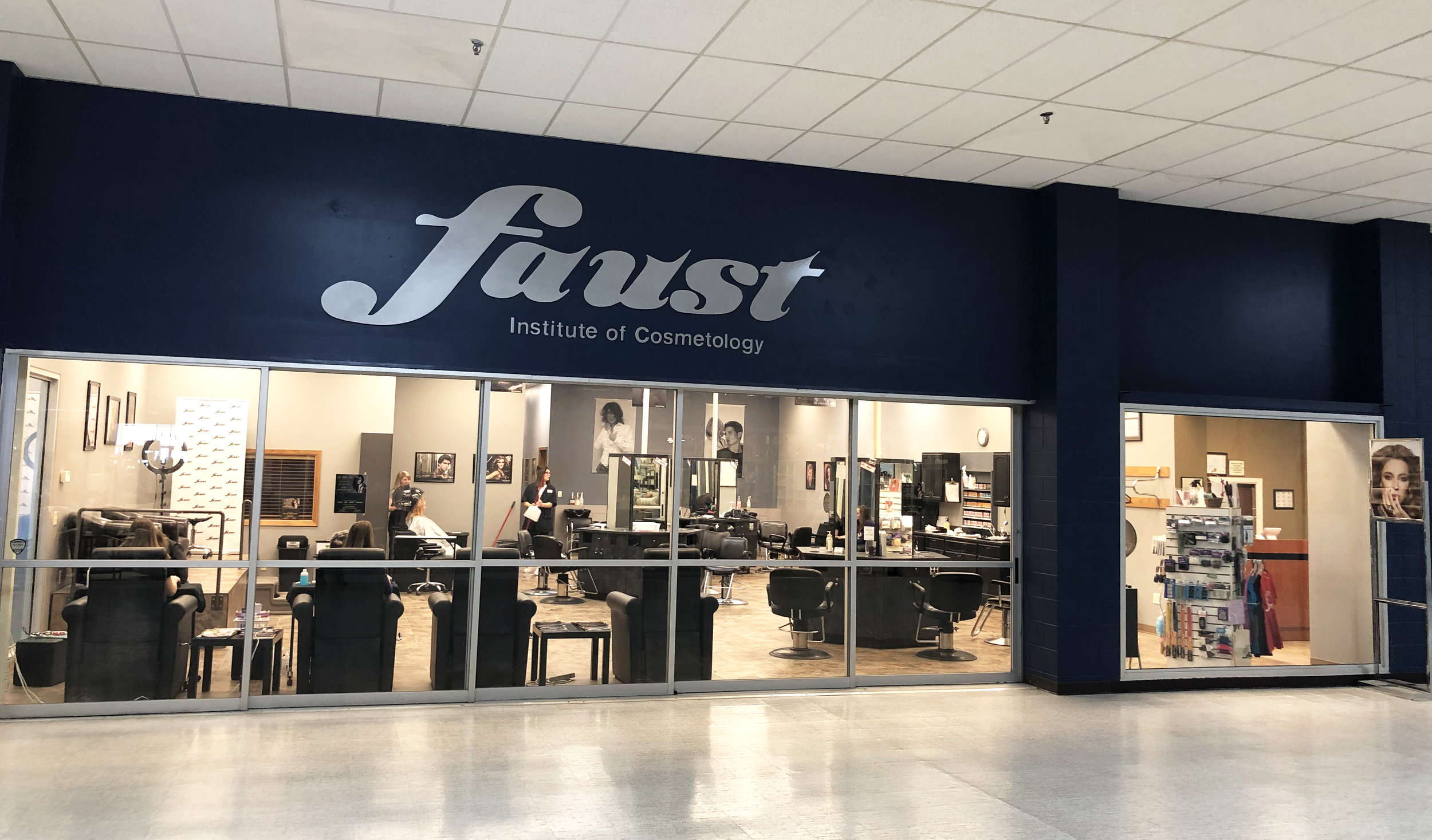 Faust Institute of Cosmetology: - Enjoy discounted services from trained students. Call for an appointment 712-336-3518