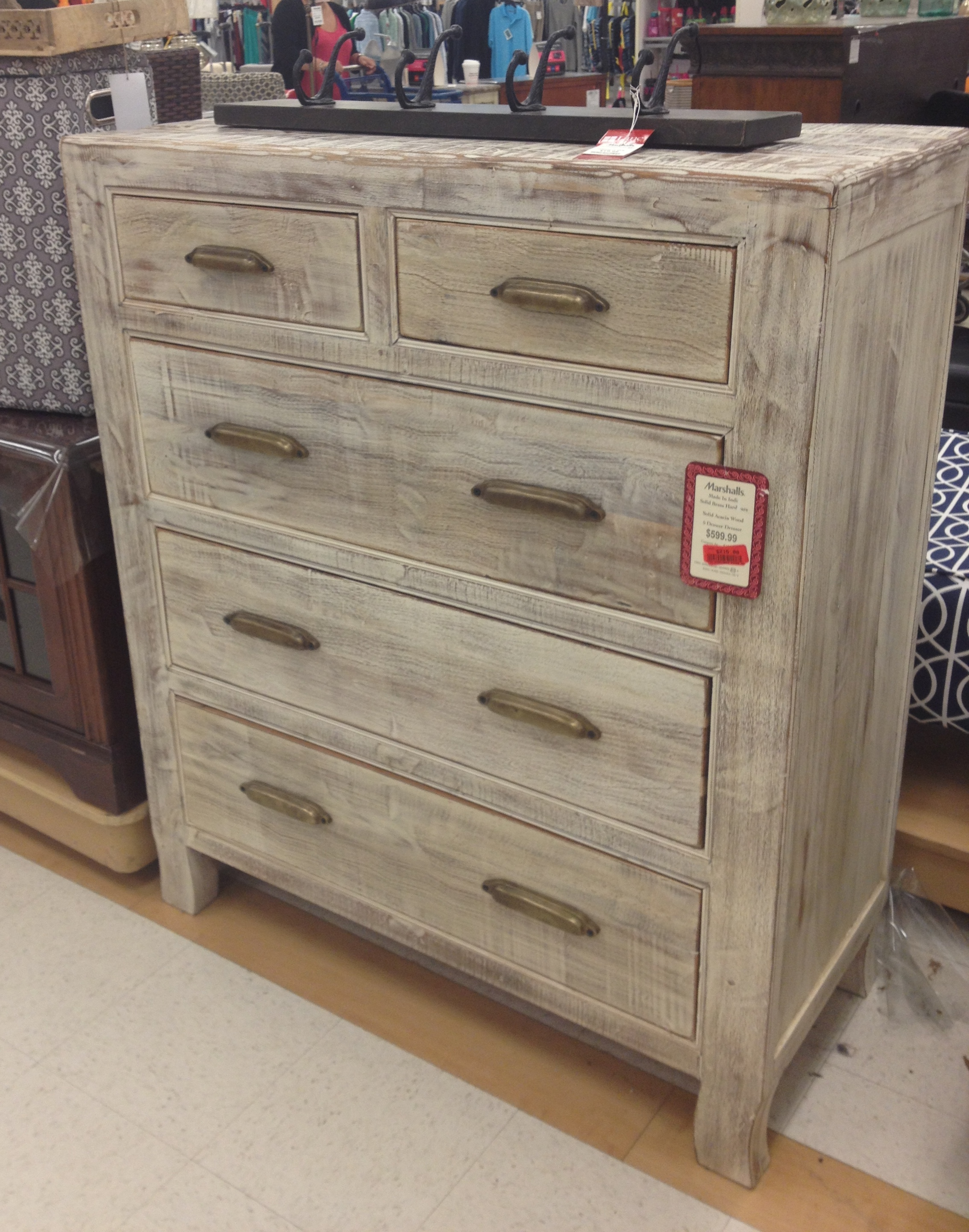 Cosmo 5 drawer chest